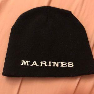 🌺 Black Marines Beanie (Must Bundle)